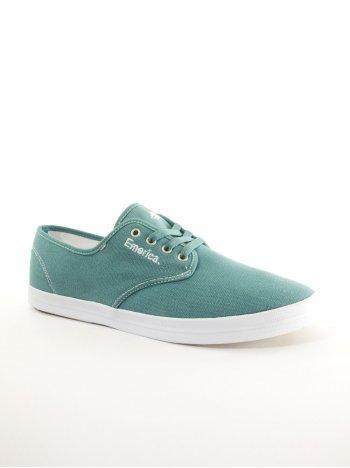 Emerica Wino Fusion Shoes – Green White  d5e3d1efea