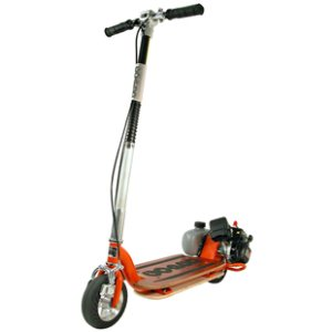 how to make a petrol scooter