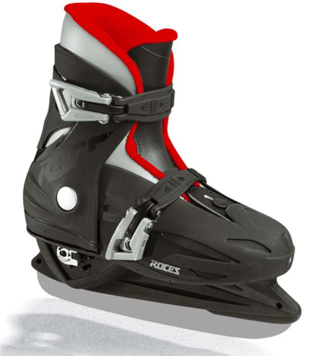 Roces Mck 2 H Black Red Ice Hockey Skates Skate Shoes